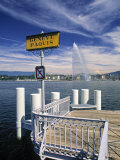Jet d'Eau  Geneva  Switzerland