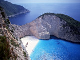 Navagio  Zante  Ionian Islands  Greece