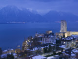 Montreux and Lake Geneva  Switzerland