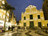 Santo Domingo Church  Old City of Macau  China