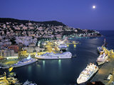 Old Port  Nice  Cote d'Azur  France
