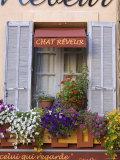 Restaurant Facade  Aix-En-Provence  Provence  France