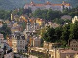 Karlovy Vary Spa Town  West Bohemia  Czech Republic