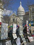 Place du Tetre  Montmartre  Paris  France