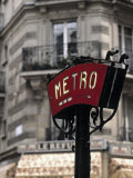 Metro Sign  Paris  France