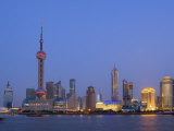 Pudong Skyline  Shanghai  China
