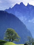Mountain Landscape  Switzerland
