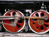 Main Wheels of Steam Locomotive  Tangshan  China