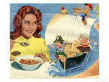 Pirates in Cereal Advertisement