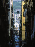 Narrow Streets of Naples  Italy