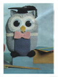 Kitsch Knitted Owl