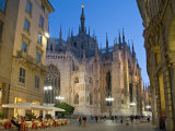 Duomo  Milan  Lombardy  Italy