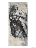 Le Dessins de Auguste Rodin: Plate No84  19th Century