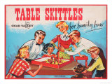 Table Skittles Game