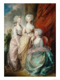 Three Daughters of King George III  Charlotte Augusta Matilda  Augusta Sophia  And Elizabeth