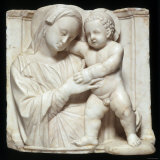 Sculpture of the Virgin and Child in Marble  c1447-1522