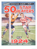 50 Star Players of 1924 Album