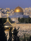 Dome of the Rock  Temple Mount  Jerusalem  Israel
