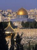 Dome of the Rock  Temple Mount  Jerusalem  Israel