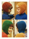 1970's Kids in Balaclavas Knitwear