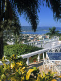 View over Montego Bay  Jamaica
