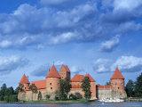 Trakai Island and Castle Nr Vilnius  Lithuania