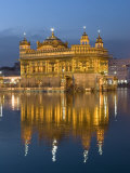 Sikh Golden Temple of Amritsar  Punjab  India
