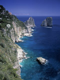 Faraglioni Rocks  Capri  Bay of Naples  Itlay