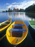 Trakai Island and Castle Nr Vilnius  Lithuania