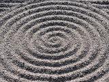 Sansui Raked Garden  Kyoto  Japan