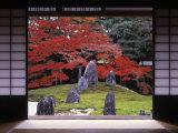 Sand Stone Garden  Komyo-In  Kyoto  Japan