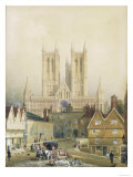 Lincoln Cathedral  19th Century