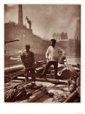 Street Life in London: Canal Workers