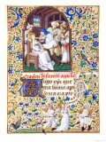 The Martyrdom from the Life of St Apollonia  A Book of Hours