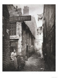 Old Closes and Streets: Old Vennel Off High Street  c1868