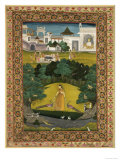 Indian Miniature of the Malawa School  c1680  India