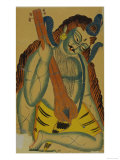 Shiva as a Musician  India  19th Century
