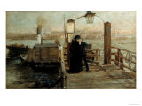The Landing Stage  19th Century