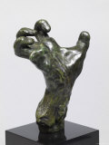 Sculpture of a Hand  Showing a Hand Strained in Tension