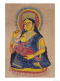 Parvati Nursing Ganesha  India
