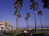 Picnic Tables  Newport Beach  California