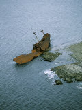 Cape Saint Marys Shipwreck  Nova Scotia