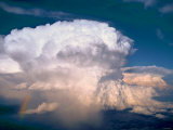 Cumulonimbus  Las Animas County  Colorado