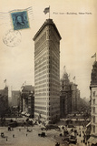 Flat Iron 1909 Reproduction d'art par Hugo Wild
