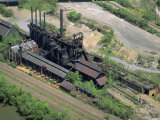 Abandoned Blast Furnace  Youngstown  Pennsylvania