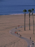 Santa Monica Bike Path  California