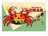 Mechanical Crab Reproduction d'art