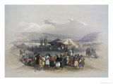 Encampment of Pilgrims at Jericho
