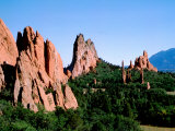Garden of the Gods  El Paso County  Colorado Springs  Colorado