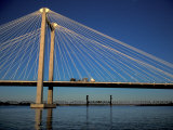 Cable Bridge  Tricities area of Richland  Pasco and Kennewick  Washington